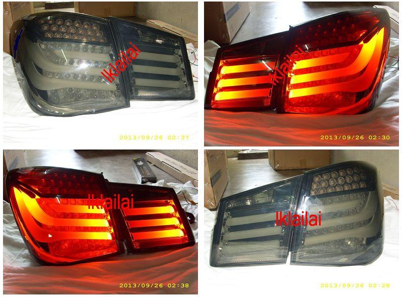 Chevrolet Cruze LED Light Bar Tail Lamp [Smoke]