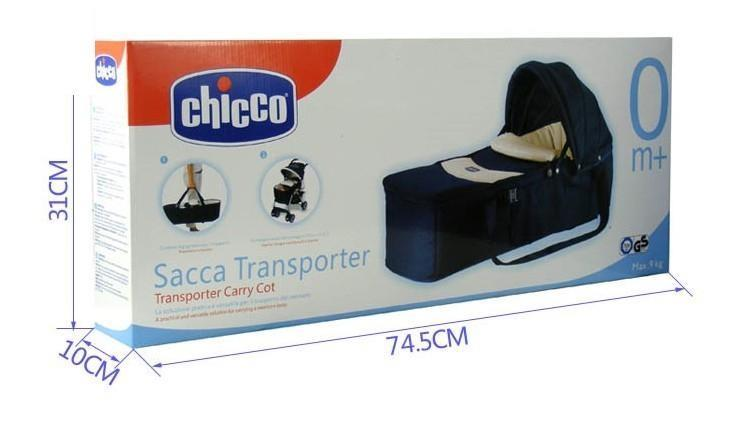 Chicco Sacca Transporter Carry Cot(Red)