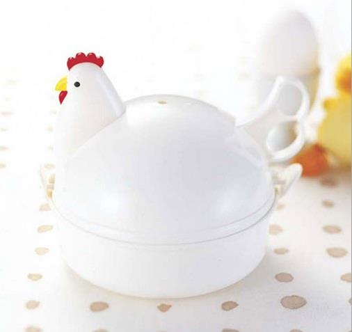 Chicken Shaped Microwave Eggs Boiler Cooker (4 Eggs)
