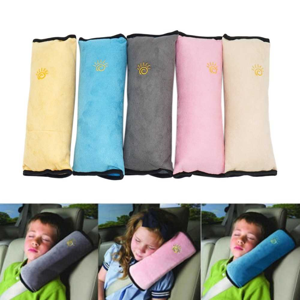 Child Car Safety Seat Belt Pillow Shoulder Strap Pad Head Cushions