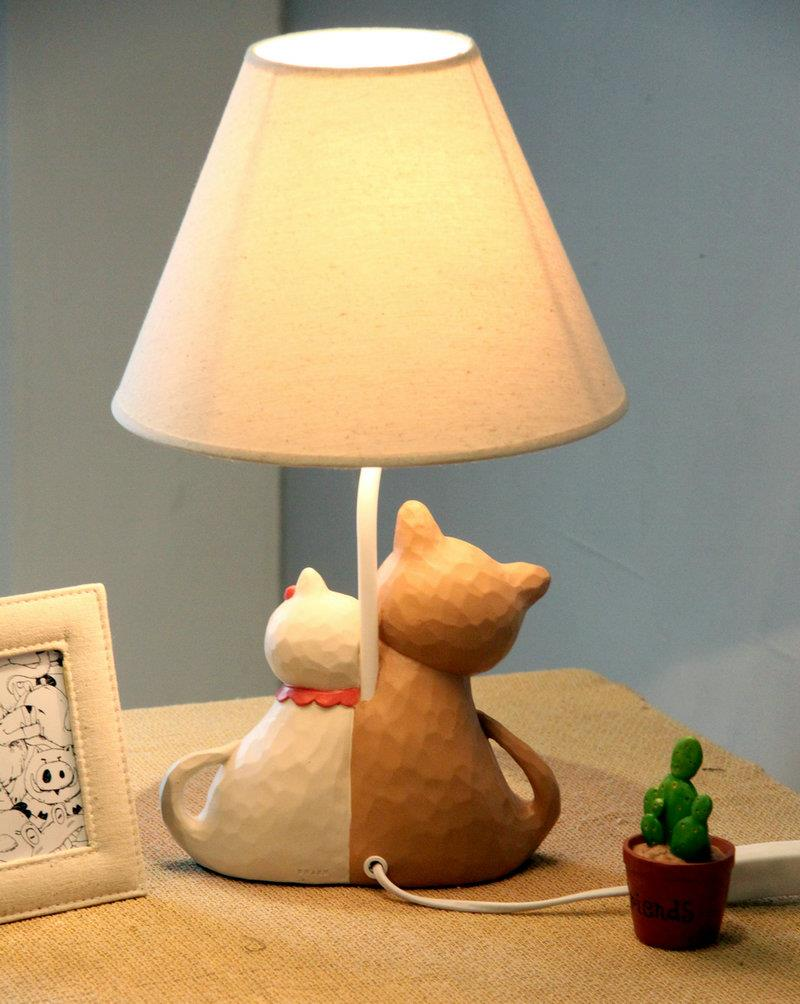 Child cute table lamp lovely cat hor end 8102016 715 pm child cute table lamp lovely cat horse table lamp aloadofball Images