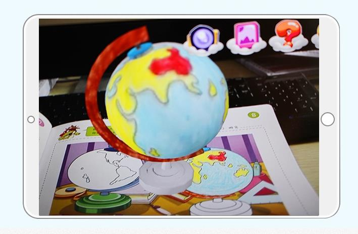 Children AR 4D  TUTULE Book Children Drawing Book Audio Book
