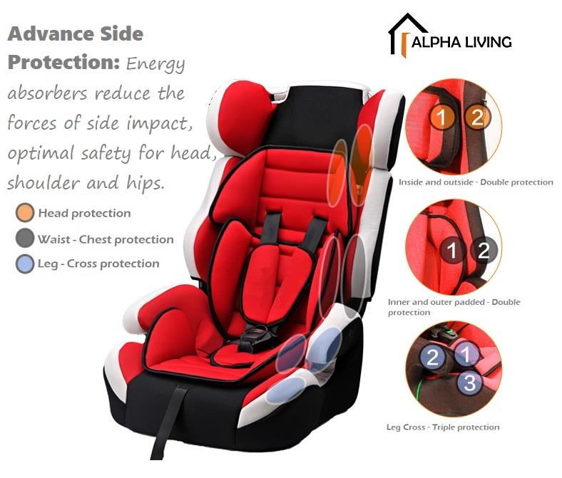 Children Car Safety Seat Booster Bay0120