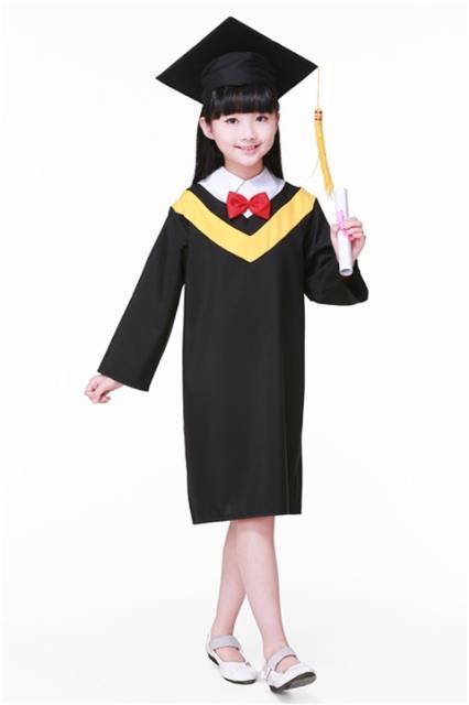f80449e3863 Children Girls Man Graduation Dress Uniform Costume Kindergarten