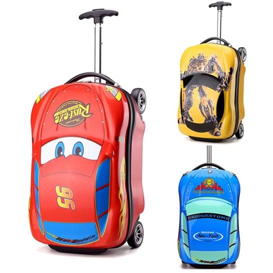 b695848ca397 Children Kid Car Hardshell 18-Inch Trolley Luggage Travel Suitcase