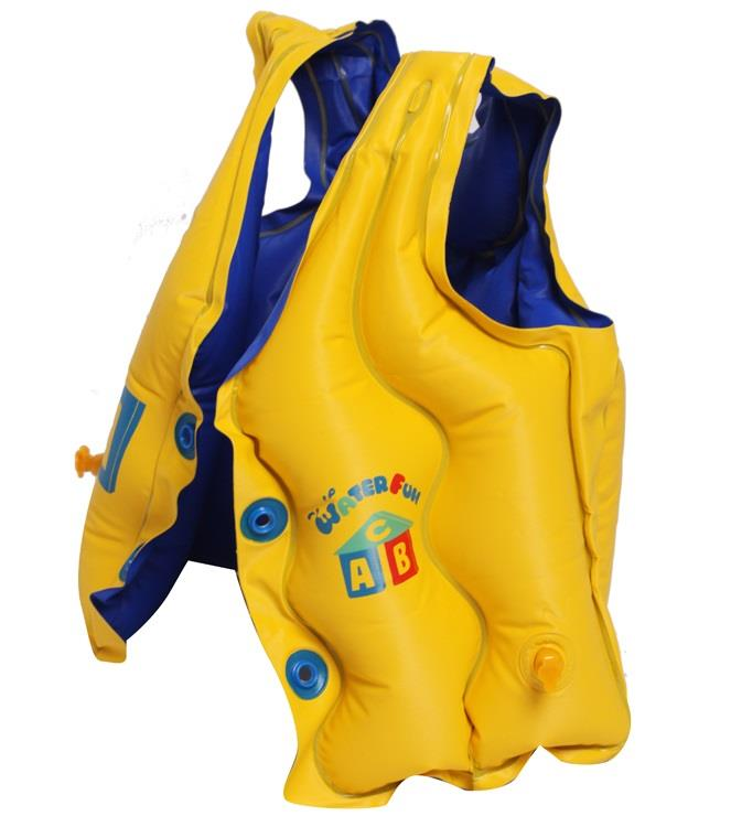 Children Life Jacket Inflatable Vest Heavy Duty Swim Floats (TOY0131)