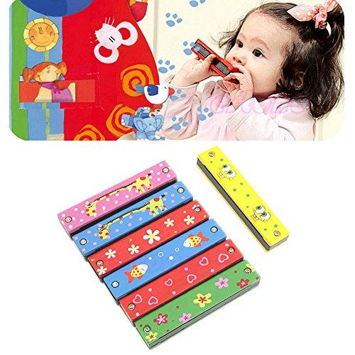 Children Musical Educational Music Toys Instrument Harmonica Combo 8