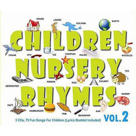 Children Nursery Rhymes Vol 2 3cd Imported Cd