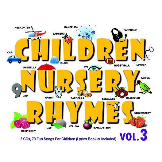 Children Nursery Rhymes Vol 3 3cd Imported Cd