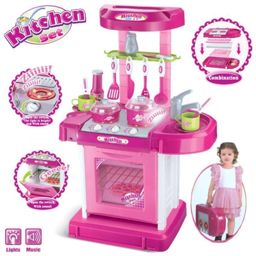 Children Portable Kitchen Toy Play Se (end 2/2/2019 2:11 PM)