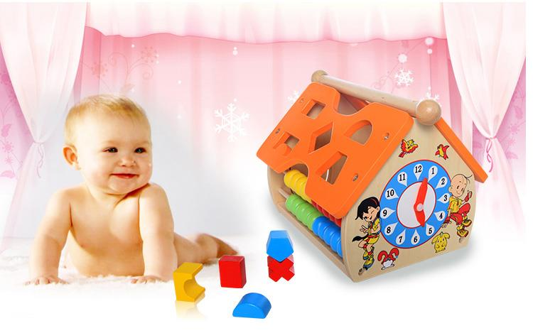 Children´s Educational Early Childhood Wooden Toys