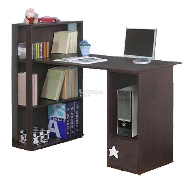Children Study Table Dark Brown