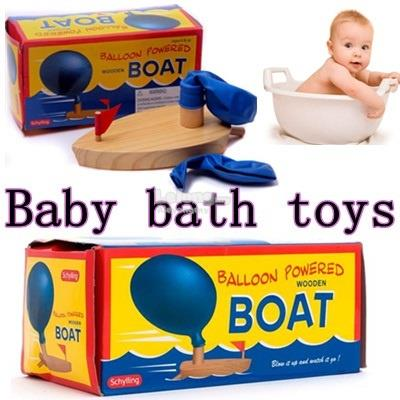 Childrens balloon ship is very popular in Europe baby bath toy !