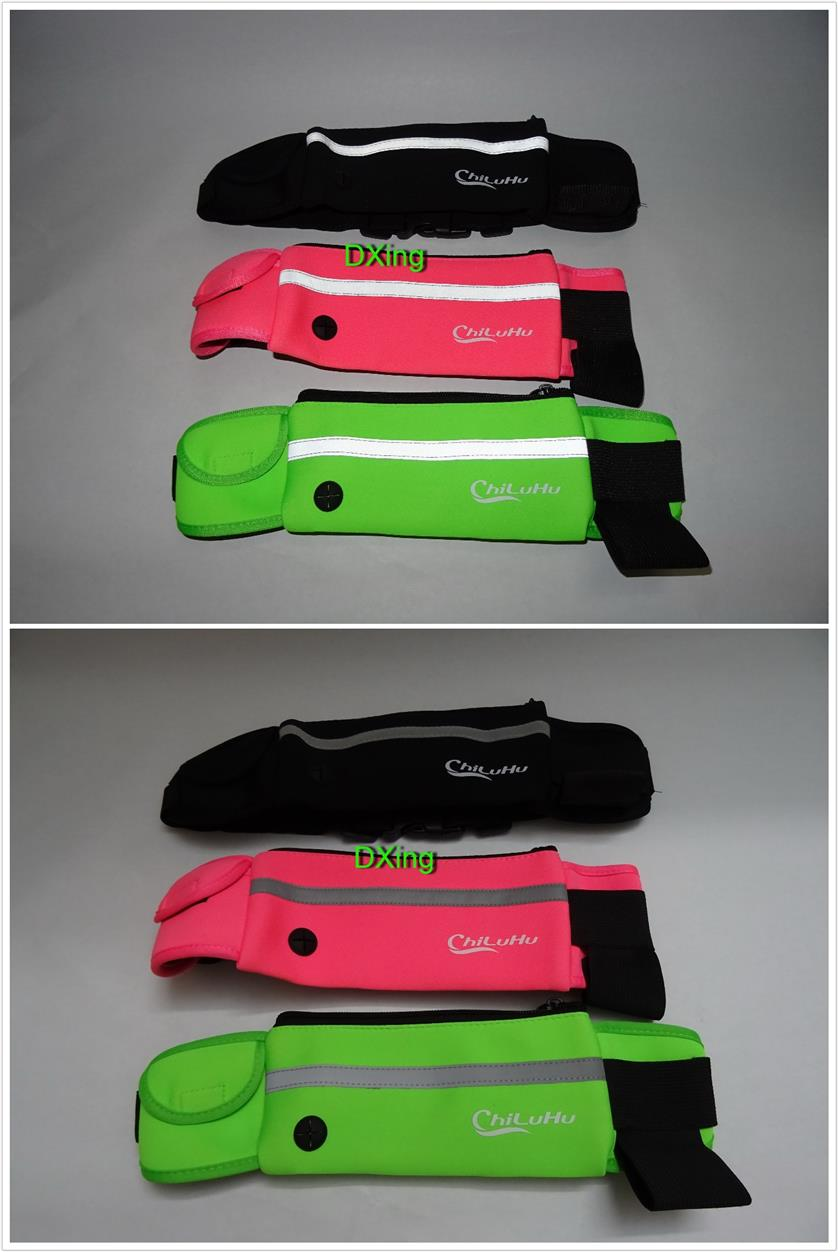 Chiluhu Running Belt Waterproof Waist Bag for jogging cycling hiking