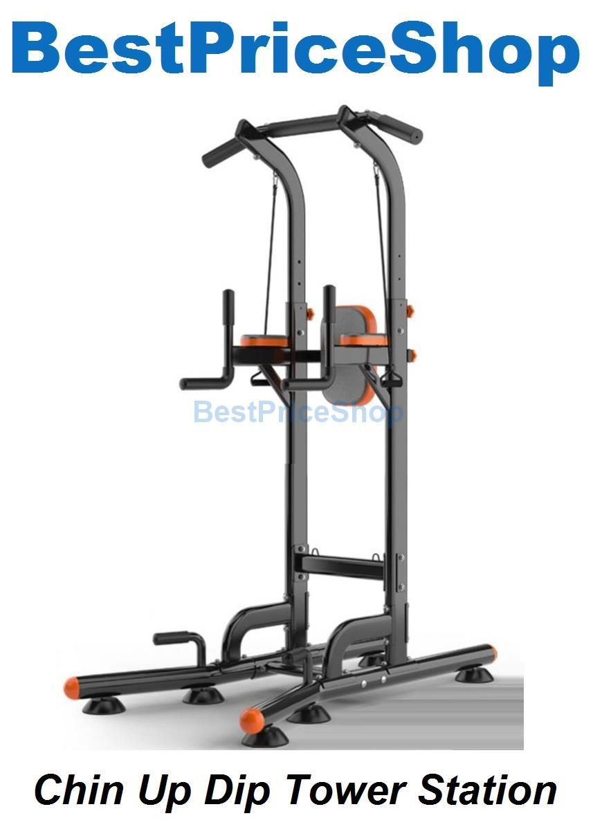 Chin Up Dip Tower Station Pull Up Abs Upper Body Exercise. ‹ › 467b6337bd76