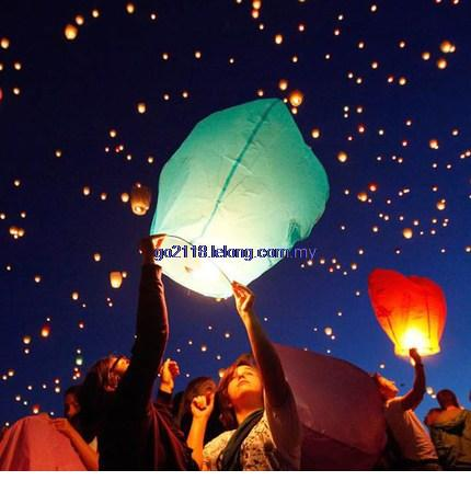 Chines New Year Flying Sky Lanterns-3PC RM20