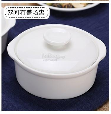 Beautiful Chinese Soup Bowl with Lid and Saucer (end 1/8/2019 9:15 PM) LC88