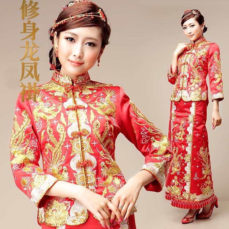 Wedding Gown Malaysia: Chinese Traditional Wedding Bridal (end 2/12/2017 12:15 AM