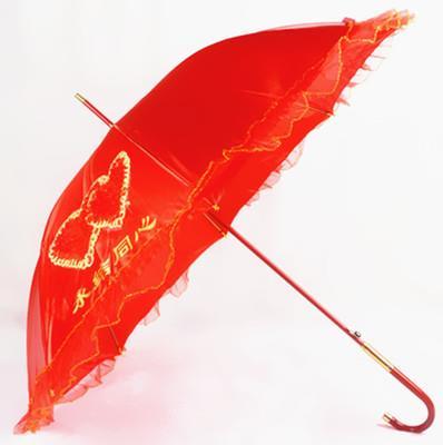 Chinese Wedding Red Umbrella 27704