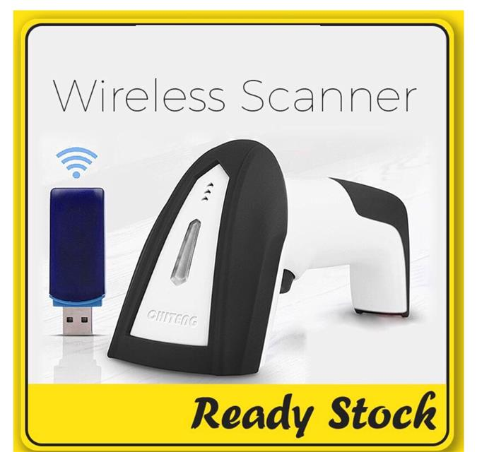 NEW CHITENG CT980B High Speed Wireless Laser Barcode Scanner
