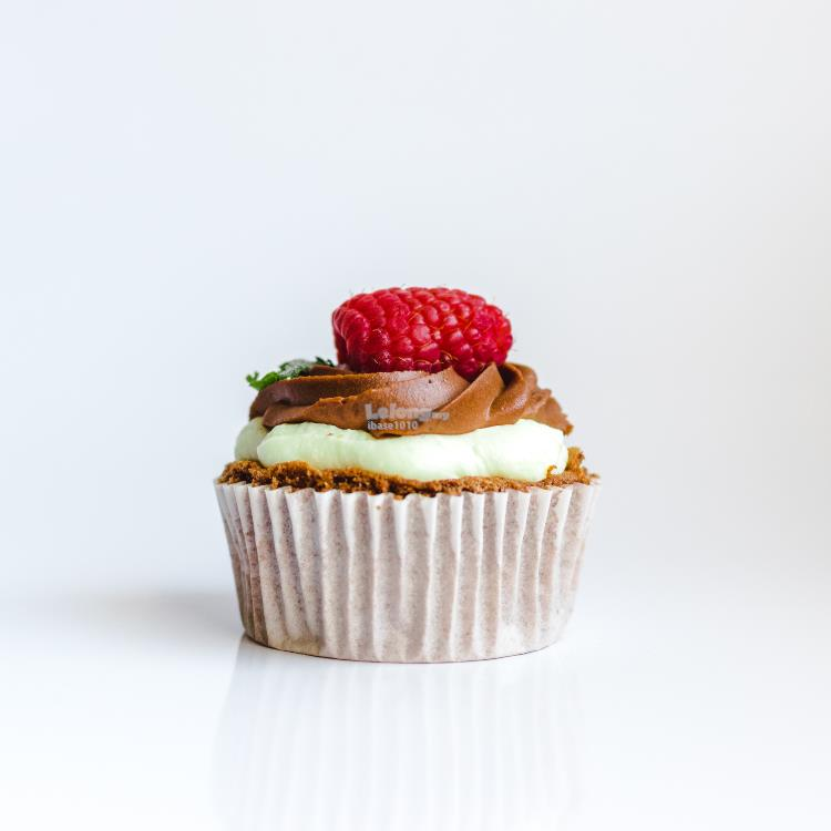 Chocolate Cupcake with Strawberry Topping (DONT BUY TESTING ONLY)