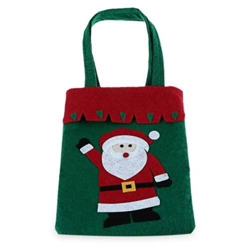 CHRISTMAS CUTE CARTOON SHOPPER BAG (OLD MAN)