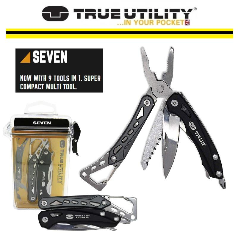 Christmas Gift Set True Utility SEVEN Multi Tool Opinel N07 Knife