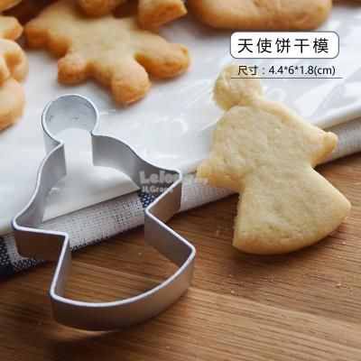 Christmas Lovely Angel Cookies Cutter Mould Mold