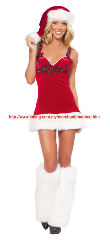 Christmas Santarina Dress Costume YH20038