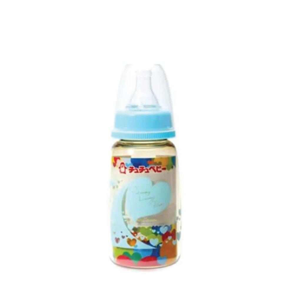 CHUCHU BABY PPSU FEEDING BOTTLE AQUA BLUE 150ML 100% Original/ Bottle .