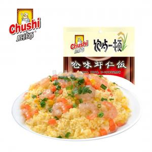 CHUSHI SELF COOK INSTANT FRIED RICE 250g PACK TYPE CHOKING SHRIMP