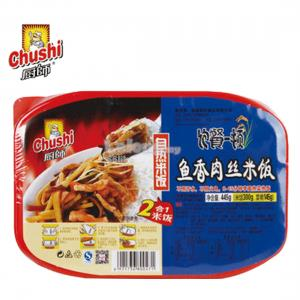 CHUSHI SELF COOK INSTANT RICE 445g FRIED PORK FLAVOUR (1 LUNCH&..