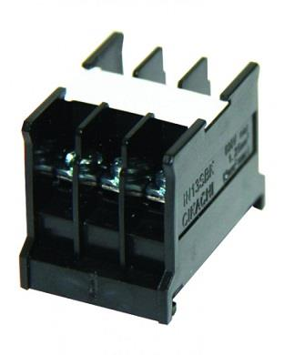 CIKACHI IN13BK 10A TERMINAL BLOCK + IN23C COVER