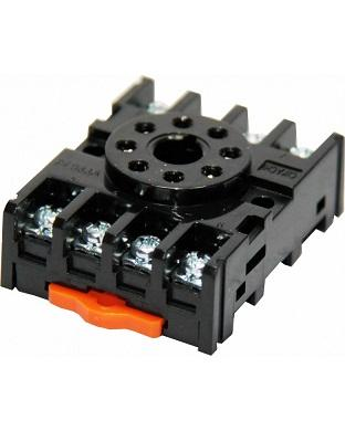 CIKACHI PF083A 8 PIN RELAY SOCKET ROUND BASE