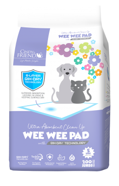 CINDY & FRIENDS WEE WEE PAD S 200SHEETS