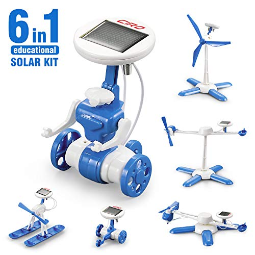 CIRO Solar Robot Science Kit 6-in-1 (end 3/4/2021 12:00 AM)