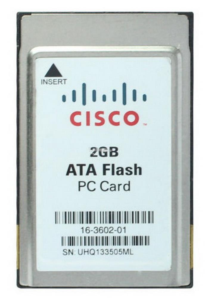 Cisco 2GB ATA Flash PC Card PCMCIA 68pin 16-3602-01