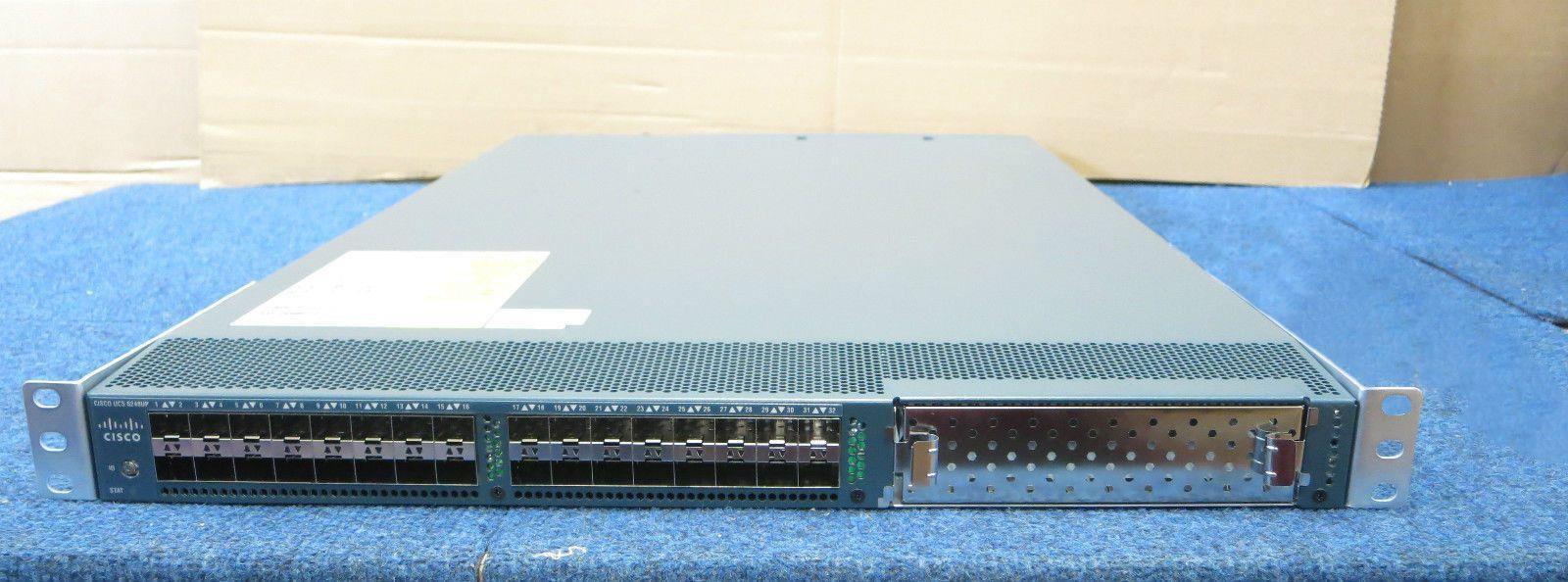 CISCO 6248 UCS-FI-6248UP UCS FABRIC INTERCONNECT SWITCH 2x PSU 68-3976