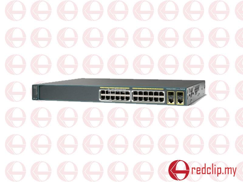 Cisco Catalyst 2960-24PC-L 24 Ports Manageable Ethernet Switch
