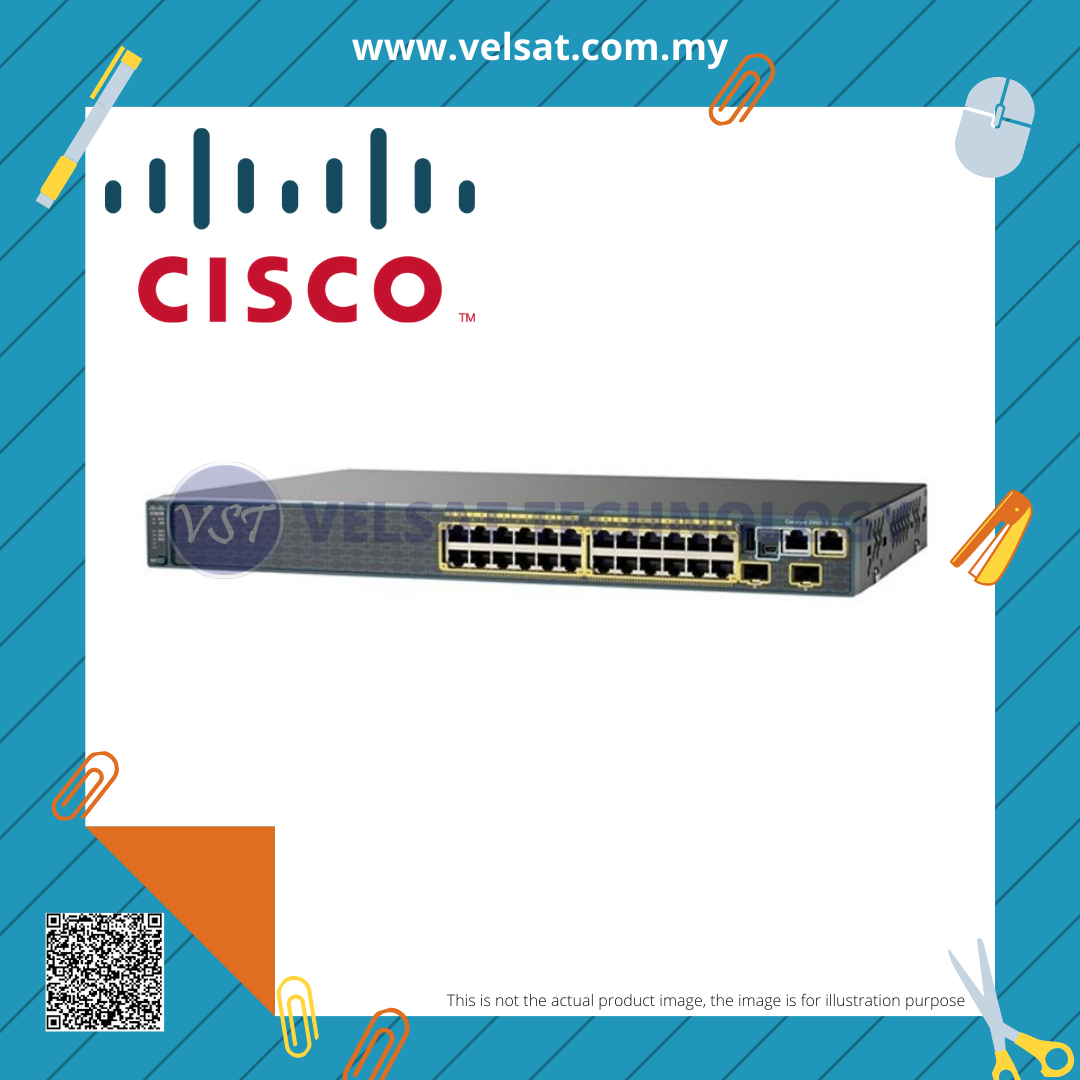 Cisco Catalyst 2960 Series 24-Ports Switch WS-C2960S-24TS-L