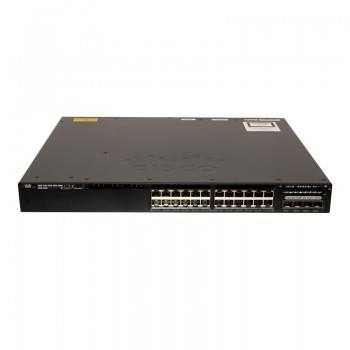 Cisco Catalyst 3650 24 Port PoE 4x1G Uplink (WS-C3650-24PWS-S)