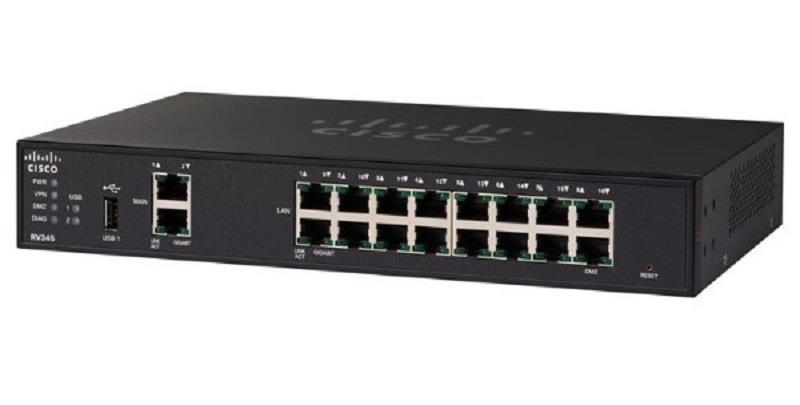 Cisco RV345 Dual WAN Gigabit VPN Router (RV345-K9-G5)
