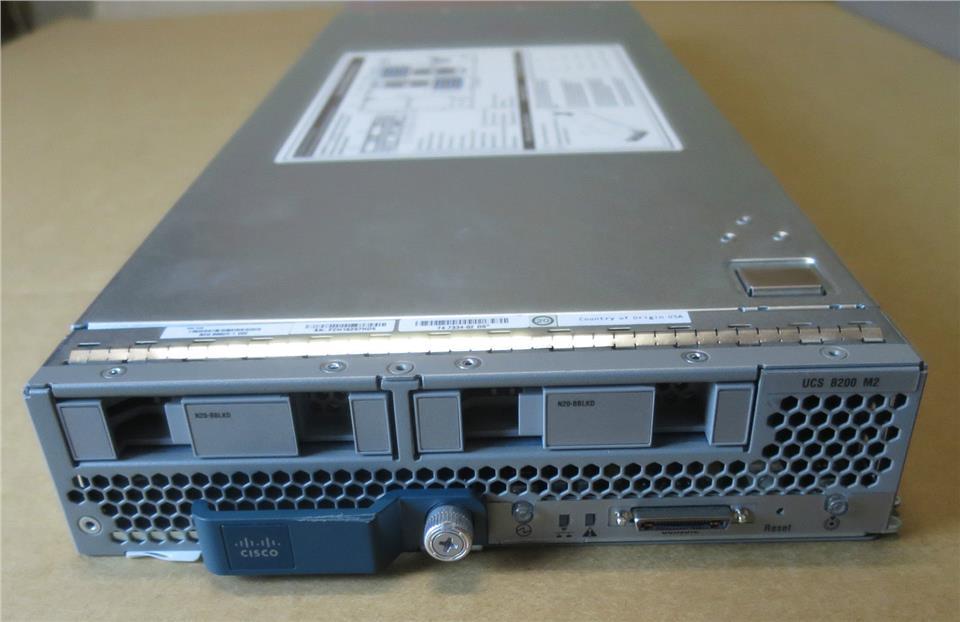 Cisco UCS B200 M2 N20-B6625-1 CTO Ra (end 4/28/2018 5:15 PM)