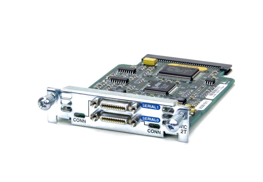 Used Cisco WIC-2T 2-Port Serial WAN Interface Card