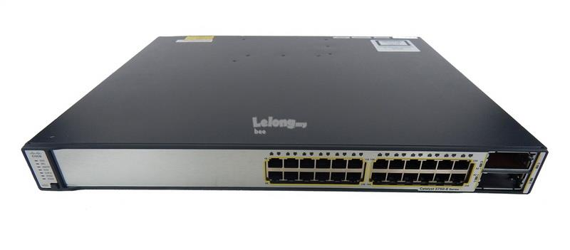 Cisco WS-C3750E-24TD-E 24-Port Multi-Layer 2 SFP Ethernet Switch
