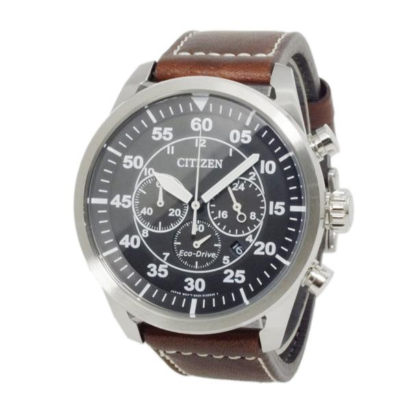 CITIZEN Eco-Drive Aviator Leather c CA4210-16 Mens Watch. ‹ › 43174291cf12