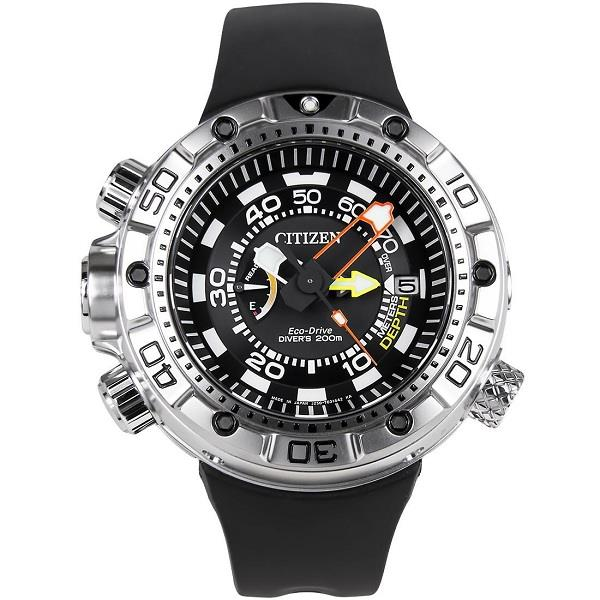 0ccc0703ee3 CITIZEN Eco-Drive Promaster Aqualand ISO 200m Japan Divers BN2021-03E. ‹ ›
