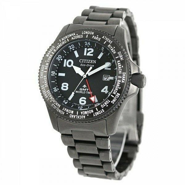 CITIZEN Eco-Drive Promaster World Time BJ7107-83E BJ7107-83 Men Watch