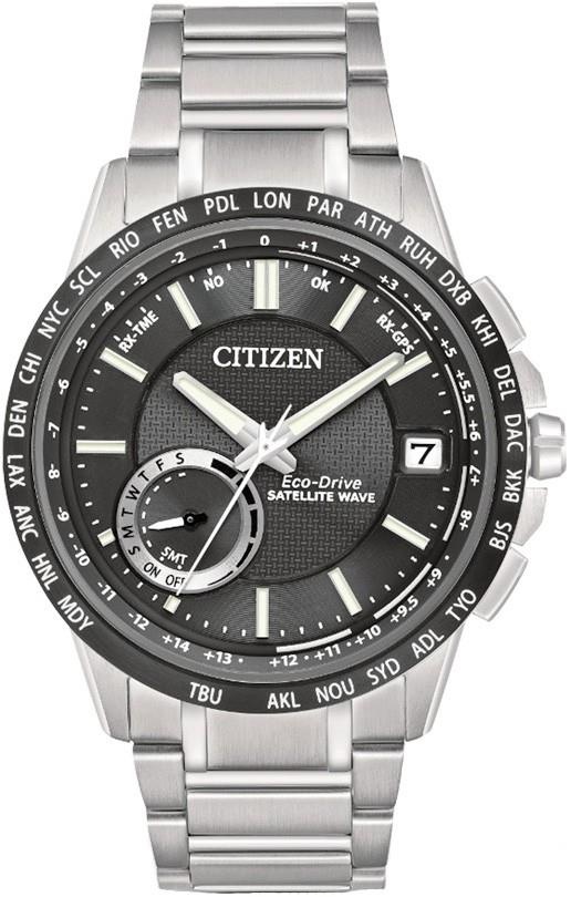 CITIZEN Eco-Drive Satellite Wave World Time GPS CC3005-85E CC3005-85