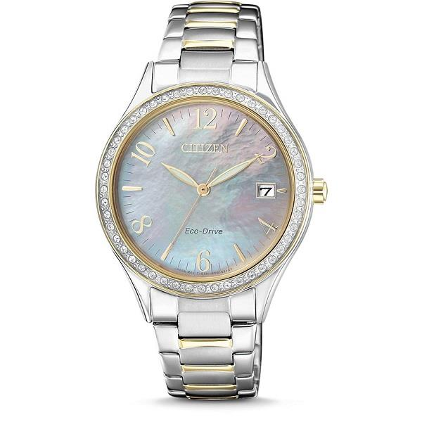 871819bdbd4 CITIZEN Eco-Drive Swarovski Crystal EO1184-81D EO1184-81 Ladies Watch. ‹ ›